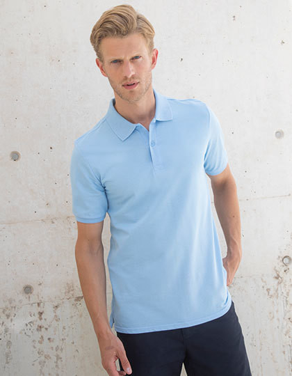 Modern Fit Cotton Microfine-Pique Polo Shirt Henbury H101