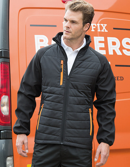 Black Compass Softshell Jacket Result R237X