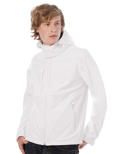 Hooded Softshell / Men B&C JM950 - Soft-Shell