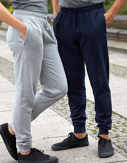 Sweatpants with Cuff and Zip Pocket Neutral O74002