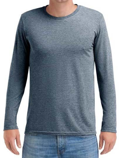 Adult Tri-Blend Long Sleeve Tee Anvil 6740