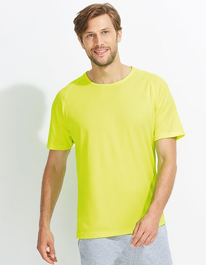 Mens Raglan Sleeves T Sporty SOL´S 11939