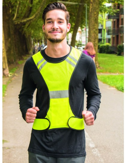 LED Running Vest for joggers Korntex RVG - Akcesoria