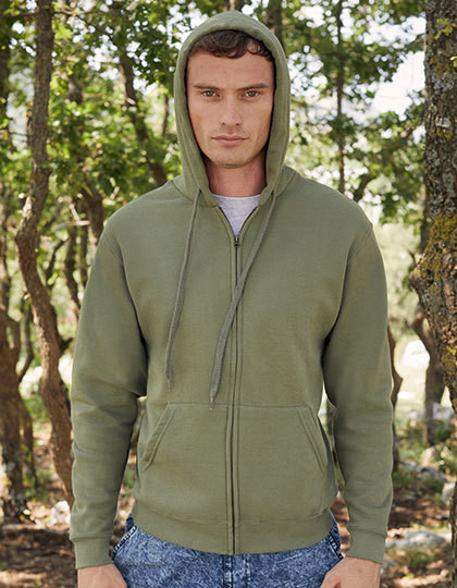 Bluza - Classic Hooded Sweat Jacket Fruit of the Loom 62-062-0