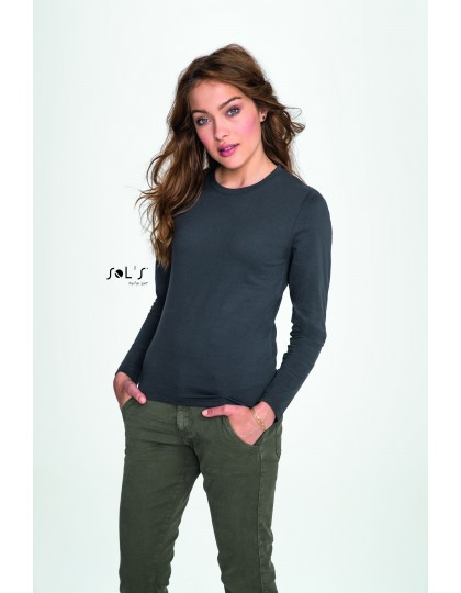 Womens Long-Sleeve T-Shirt Imperial SOL´S 02075