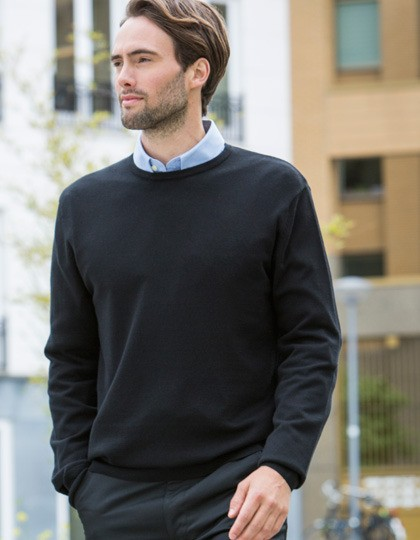 męski pulower  Crew-Neck Henbury H725 - Swetry męskie