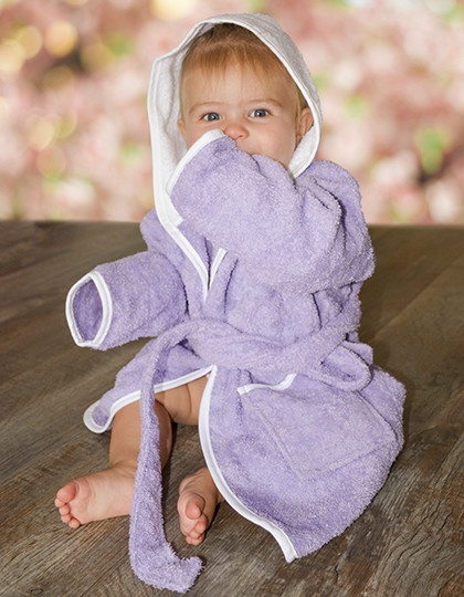 Babiezz Bathrobe with Hood A&R 022.50 - Szlafroki