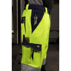 High Visibility Industry 300 Trousers EN20471 Dickies SA30035 - Spodnie