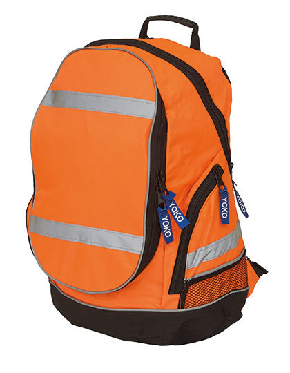 High Visibility London Backpack YOKO SH8001 - Plecaki