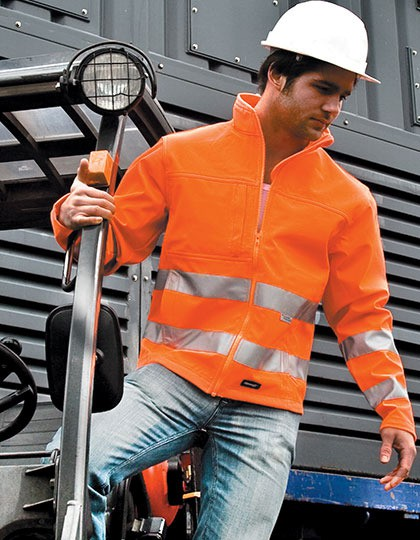 Kurtka High-Vis Soft Shell Result R117X