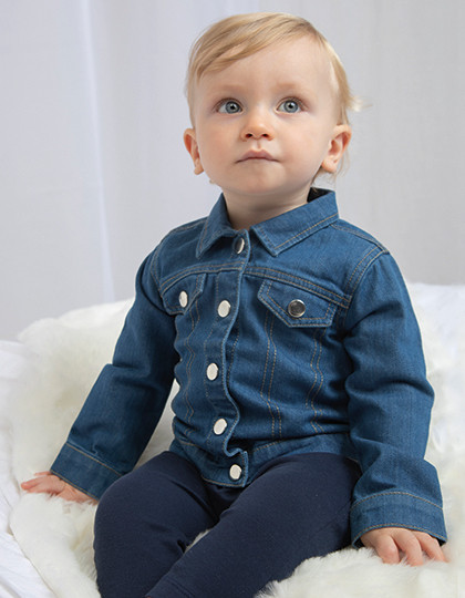 Baby Rocks Denim Jacket Babybugz BZ53