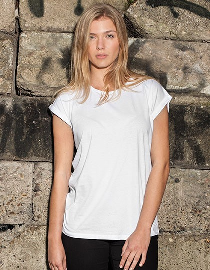 Ladies Extended Shoulder Tee Build Your Brand BY021