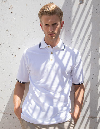 Tipped Collar And Cuff Polo Henbury H150