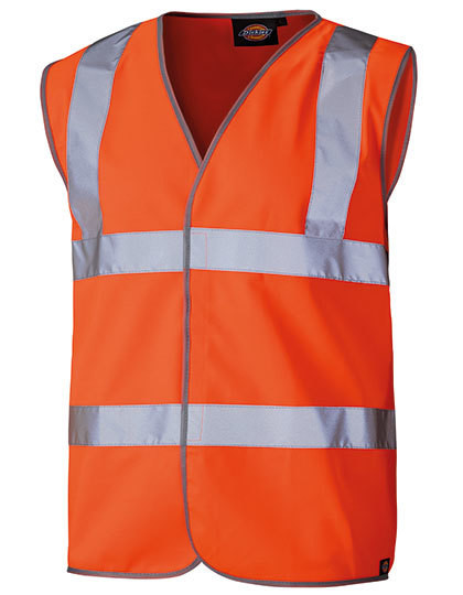 Professional Safety Vest Orange Dickies SA30310