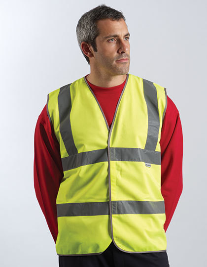 Professional Safety Vest Yellow Dickies SA22010