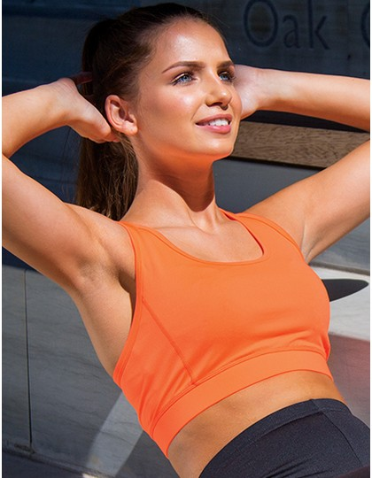 Womens Impact Softex® Crop Top SPIRO S282F