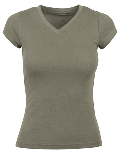Ladies Basic Tee Build Your Brand BY062