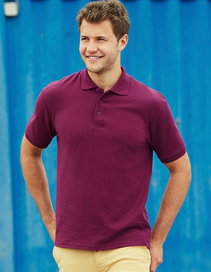 65/35 Heavy Piqué Polo Fruit of the Loom 63-204-0