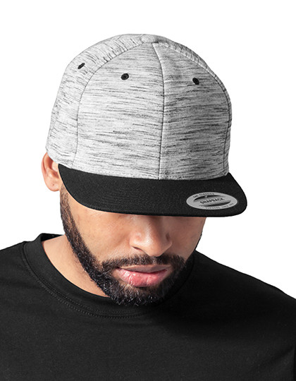 Stripes Melange Crown Snapback FLEXFIT 6089SC - Snapbacki