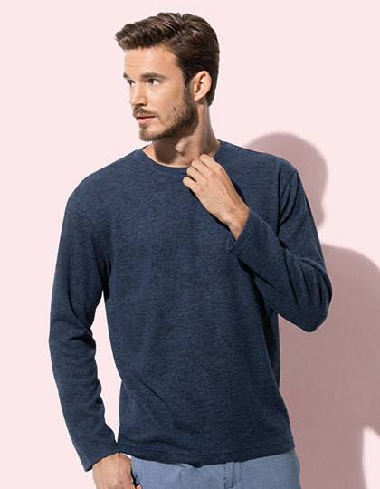 Knit Sweater Long Sleeve for men Stedman ST9080 - Swetry męskie