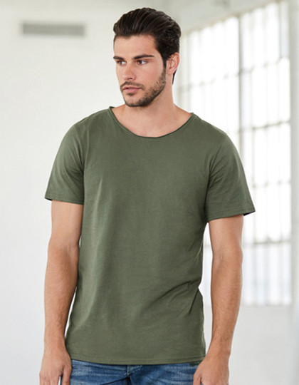 Men´s Jersey Raw Neck Tee Canvas 3014