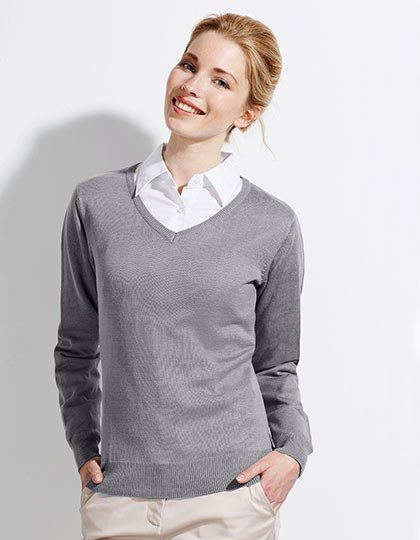 Womens V Neck Sweater Galaxy SOL´S 90010 - Swetry damskie