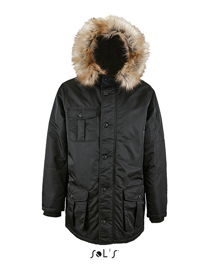 Mens Warm and Waterproof Jacket Ryan SOL´S 02108 - Zimowe
