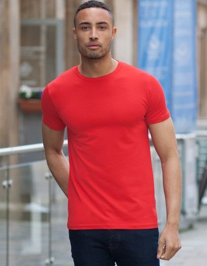 Męska koszulka Stretch Feel Good V-Neck T SF SF121