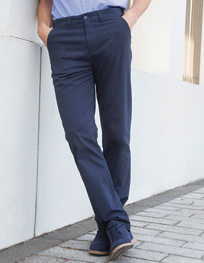 Men's Stretch Chino with Flex Waistband Henbury H650