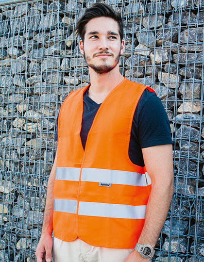 Safety Vest Professional 80/20 Polycotton Korntex KXBM