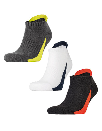 Sneaker Sports Socks (3 Pair Pack) SPIRO S293X