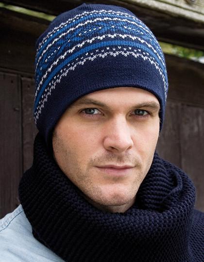 d472e77d6e85d8 Czapka Aspen Knitted Hat Result Winter Essentials R153X - Czapki zimowe