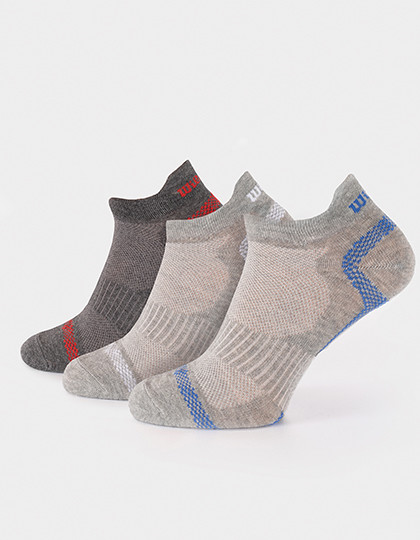Men´s Trainer Socks (3er Pack) Wilson S7011130