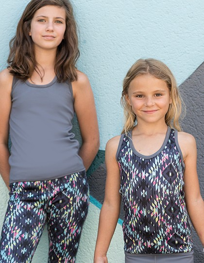 Kids Reversible Workout Vest SF SM240