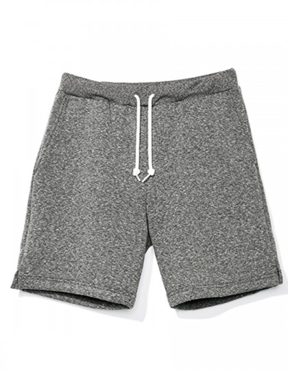Mock Twist (Salt & Pepper) Gym Short American Apparel RSAMT4239W - Spodnie długie i krótkie