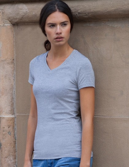 Ladies Stretch Feel Good V-Neck T SF SK122