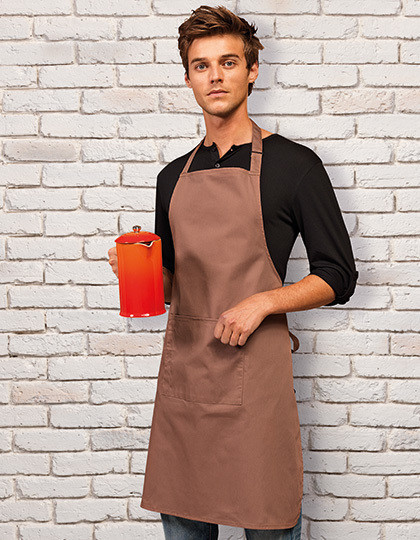 ´Colours´ Bib Apron With Pocket Premier Workwear PR154 - Pozostałe