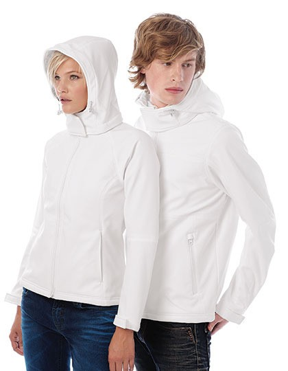 Hooded Softshell / Women B&C JW937 - Soft-Shell