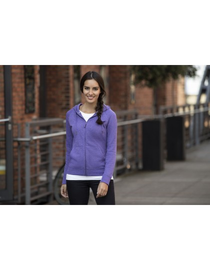 Ladies HD Zipped Hood Sweat Russell R-284F