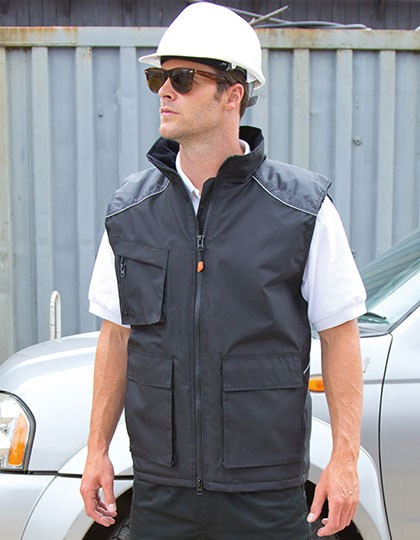 Vostex Bodywarmer Result WORK-GUARD R306X