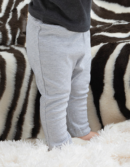 Baby Striped Leggings Babybugz BZ46