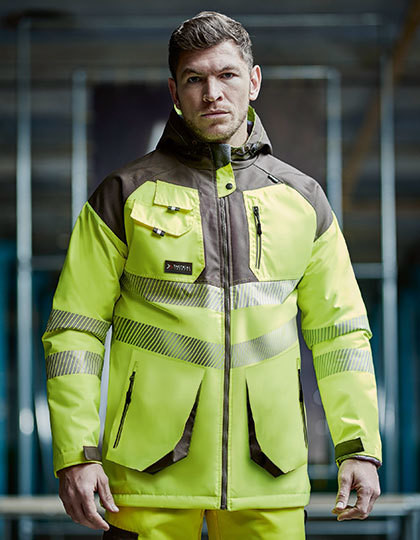 Hi-Vis Parka Jacket Regatta Tactical TRA340 - Kurtki
