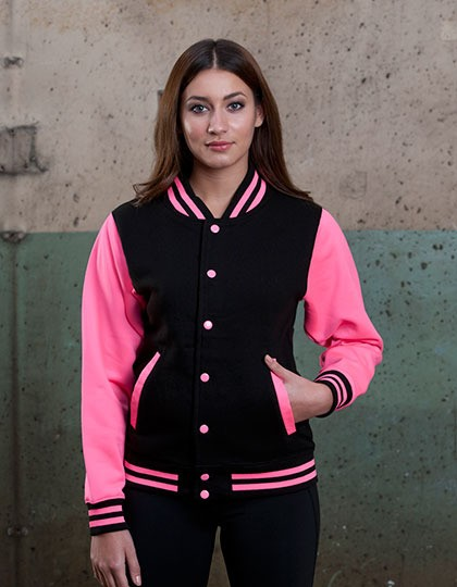 Kurtka Electric Varsity Just Hoods JH044 - Bluzy