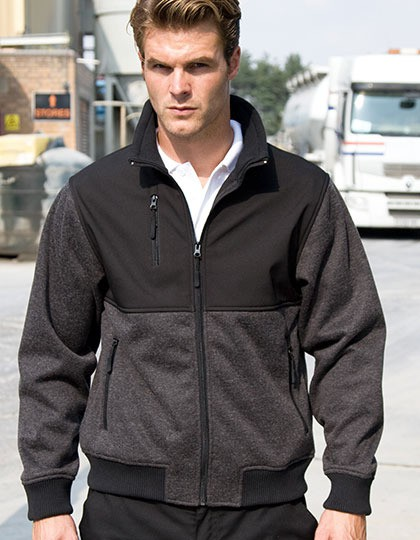 Brink Stretch Work Jacket Result WORK-GUARD R315X