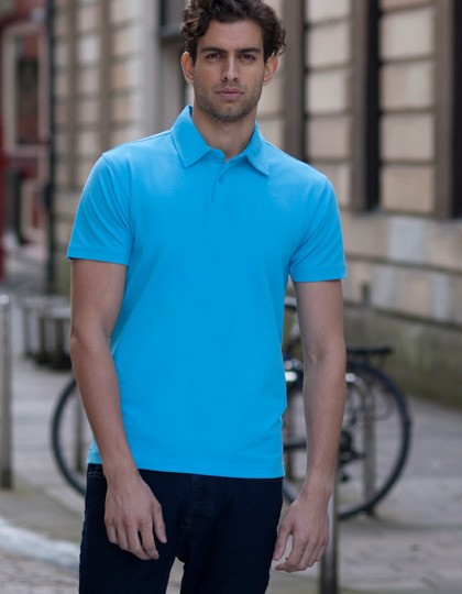Męski Short Sleeve Stretch Polo SF SF042