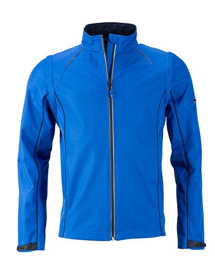 Men`s Zip-Off Softshell Jacket James&Nicholson JN1122 - Kurtki