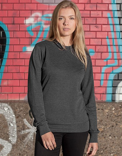 Bluza damska Light Crewneck Build Your Brand BY025 - Bluzy