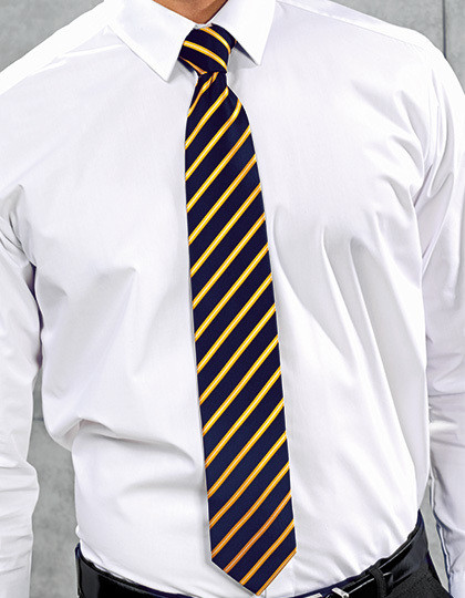 Sports Stripe Tie Premier Workwear PR784 - Akcesoria