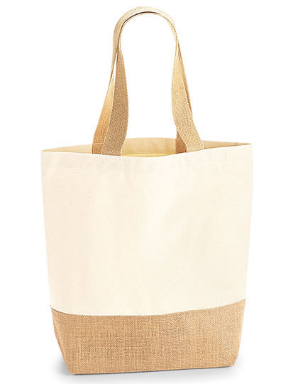 Jute Base Canvas Shopper Westford Mill W450 - Torby na zakupy