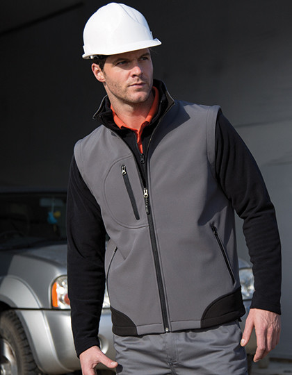 Soft Shell Bodywarmer Result R123X